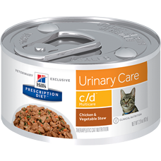 Hill's® Prescription Diet® c/d® Multicare Feline Chicken & Vegetable Stew 2.9 oz