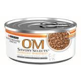 Purina Veterinary Diet OM Savory Selects Overweight Management® Feline Formula In Gravy - 5.5 oz can