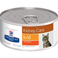 Hill's® Prescription Diet® k/d® Feline Kidney Care with Chicken 5.5oz