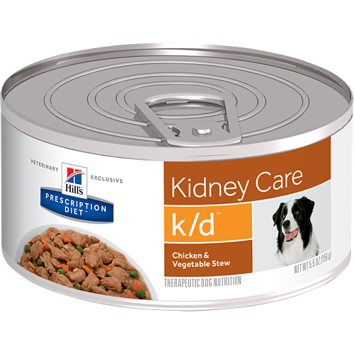 Hill's® Prescription Diet® k/d® Canine Kidney Care with Beef & Vegetable Stew 5.5oz