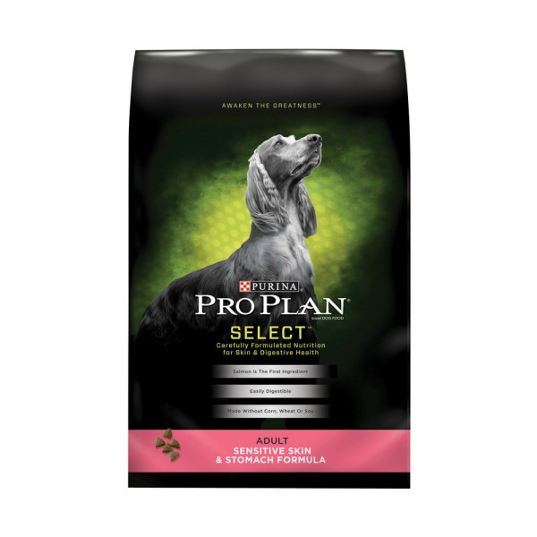 Purina Pro Plan Select Sensitive Skin & Stomach Adult Formula - 5lb