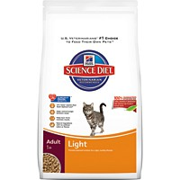 Hill's® Science Diet® Adult Light Cat Food 7lb - Dry