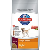 Hill's® Science Diet® Adult Large Breed Light 33lb - Dry