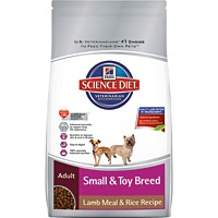 Hill's® Science Diet® Adult Small & Toy Breed Lamb Meal & Rice Recipe 4.5lb - Dry