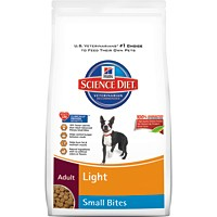 Hill's® Science Diet® Adult Light Small Bites 17.5lb - Dry