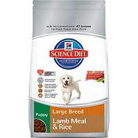 Hill's® Science Diet® Puppy Large Breed Lamb Meal & Rice Recipe 15.5lb - Dry