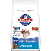 Hill's® Science Diet® Mature Adult 7+ Active Longevity Small Bites 33lb - Dry