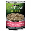 Purina Pro Plan Select Sensitive Skin & Stomach Adult Formula 13oz Can