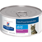 Hill's® Prescription Diet®d/d® Feline Skin Support Duck Formula 5.5oz can