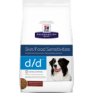 Hill's® Prescription Diet® d/d® Canine Skin Support Potato & Venison Formula 17.6lb