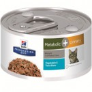 Hill's® Prescription Diet® Metabolic + Urinary Feline Vegetable & Tuna Stew 2.9oz can