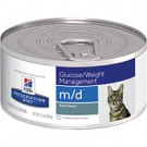 Hill's® Prescription Diet® m/d® Feline Glucose/Weight Management 5.5oz can